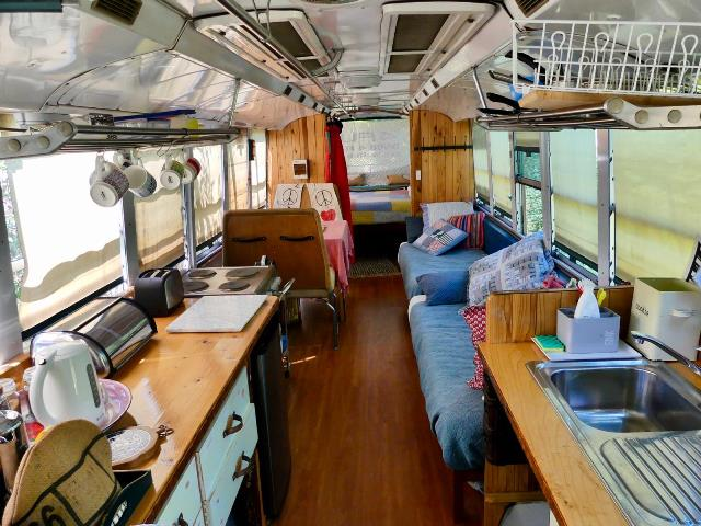 Glamping Bus Internal